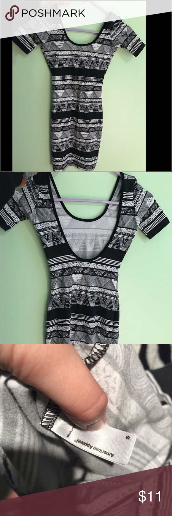 american apparel aztec bodycon dress never worn! just sits in my closet, very flattering on and comfy material! great for a night out. quarter sleeves. make offers American Apparel Dresses