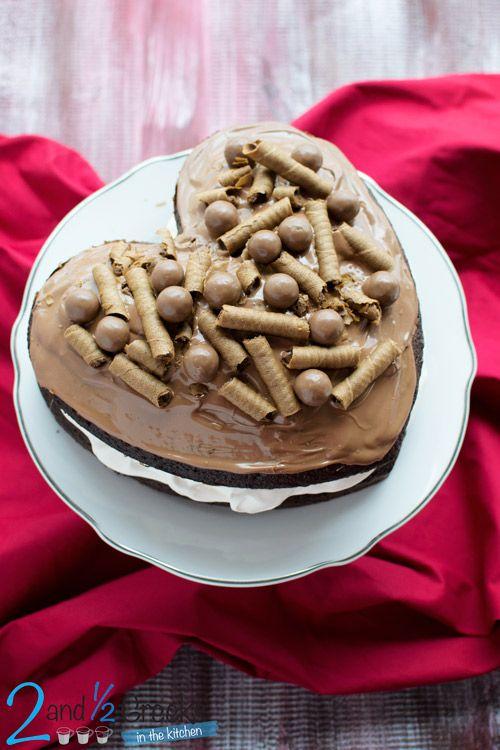 Τούρτα σοκολάτα για τον Άγιο Βαλεντίνο - Craftaholic
