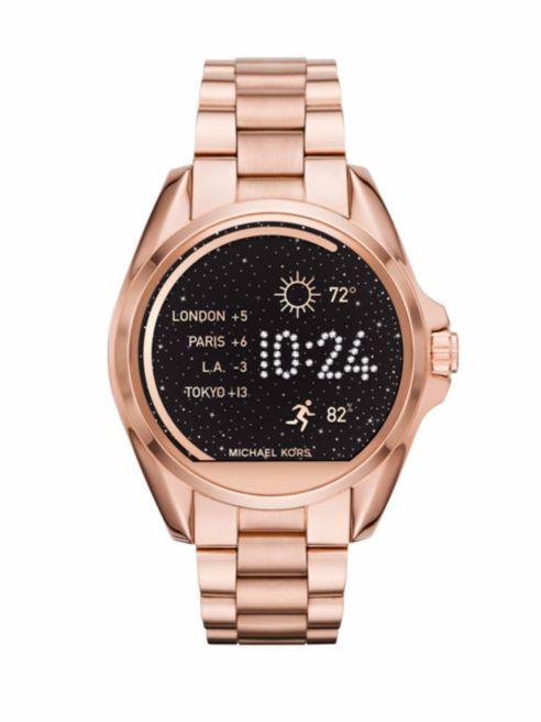 Rose Gold Michael Kors Smart Watch
