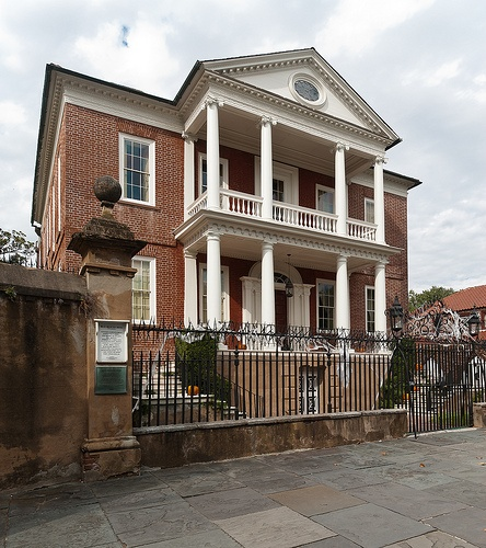 King St Charleston Sc: Miles Brewton House, 27 King Street, Charleston, South