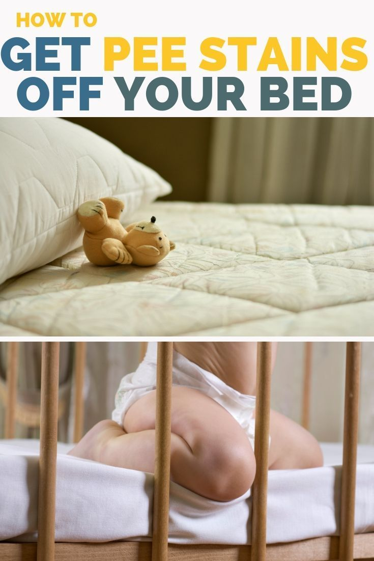 How to clean mattress stains like pee with images