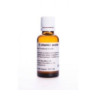 E-vitamin acetát - bőrkondicionáló és antioxidáns alapanyag, ami kiváló antibakteriális tulajdonságokkal is rendelkezik.