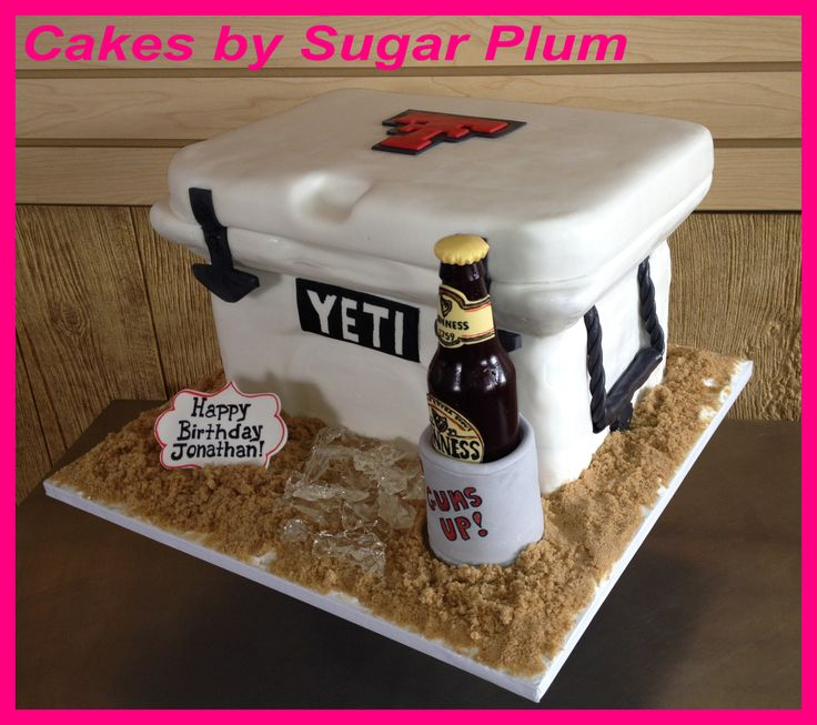 Yeti Cooler Cake Except Maybe Open And Not At The Beach