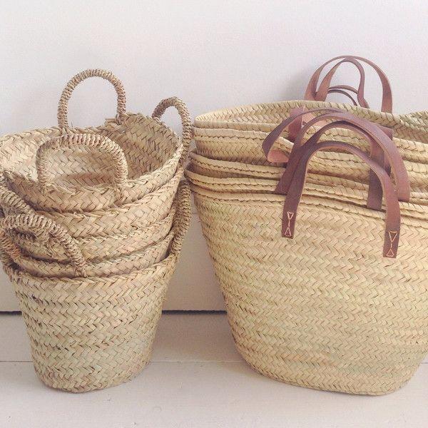 Panier French market baskets