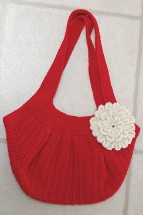 Free Crochet Pattern Fat Bottom Bag : Pin by Barbara Tappa on Crocheted Bags & Totes Pinterest