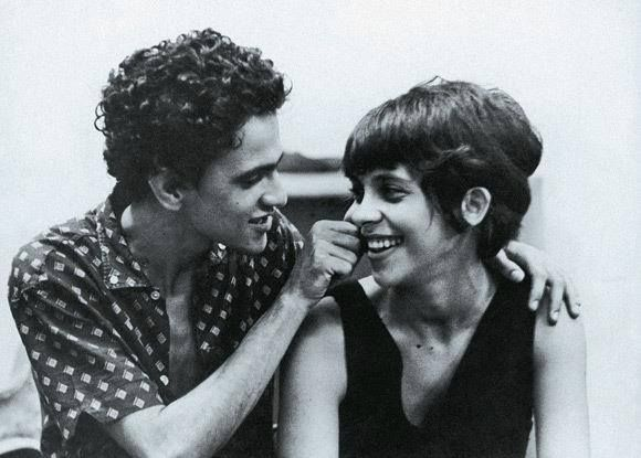 Caetano Veloso e Gal Costa.