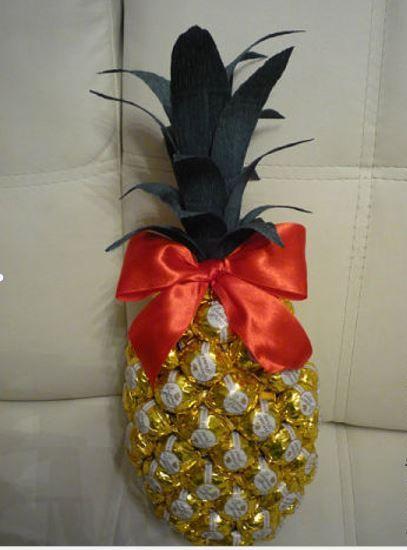 pineapple of chocolates