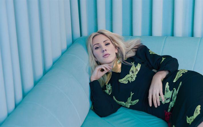 Hämta bilder Ellie Goulding, 2017, brittisk sångare, beauy, superstars