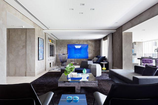 Concreto + azul