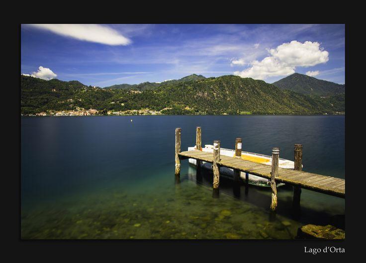 Lago d'Orta, Piëmonte, Italië