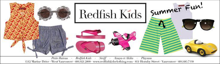 Summer Gift Guide  www.redfishkids.com
