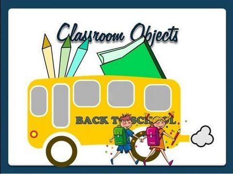 Classroom Objects - Vocabulary video lesson - English Language - YouTube