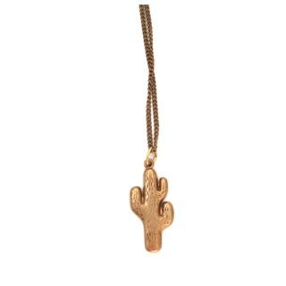 cactus pendant   symbolism of flourishing and fertility   boho style pendant
