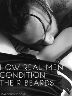 How Real Men Condition Their Beards #ThisOrBeardOil Beard Meme From Beardoholic.com