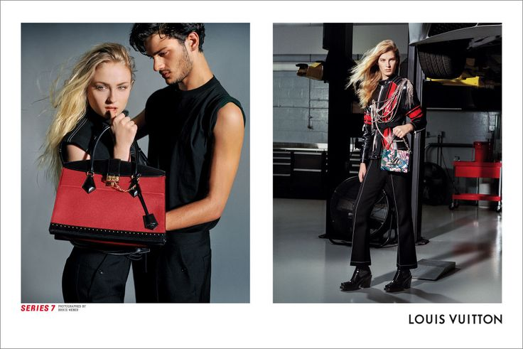 Louis Vuitton's Industrious Fall 2017 Campaign with Jaden Smith, Riley Keough, Sophie Turner, Shot by Bruce Weber - TheImpression.com