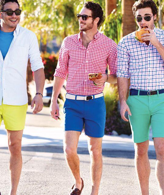 Royal Blue Shorts Men