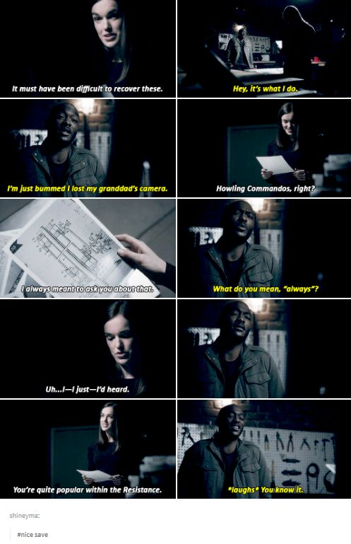 """""""You're quite popular within the Resistance"""" - Simmons and Framework Trip #AgentsOfSHIELD"""