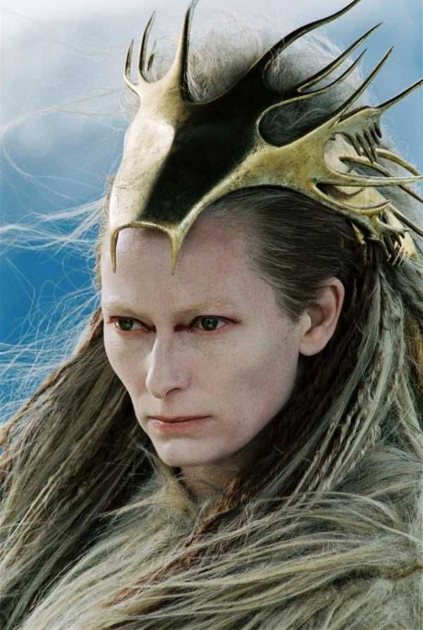 "Tilda Swinton as the White Witch in ""The Chronicles of Narnia: The Lion, the Witch, and the Wardrobe"""