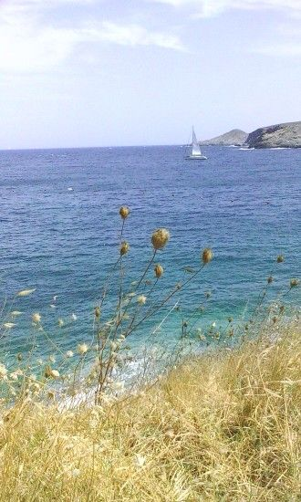 Loutra Kythnos island, Greece