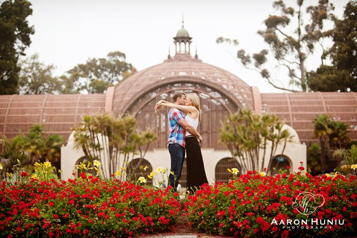 Laura + Marc | Engagement Session | Balboa Park, San Diego, CA » Aaron Huniu Photography