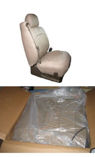 HONDA-CIVIC-4D-SE-LX-EX-01-02-LEATHER-SEAT-COVERS-PEWTER-800-MSRP-NEW