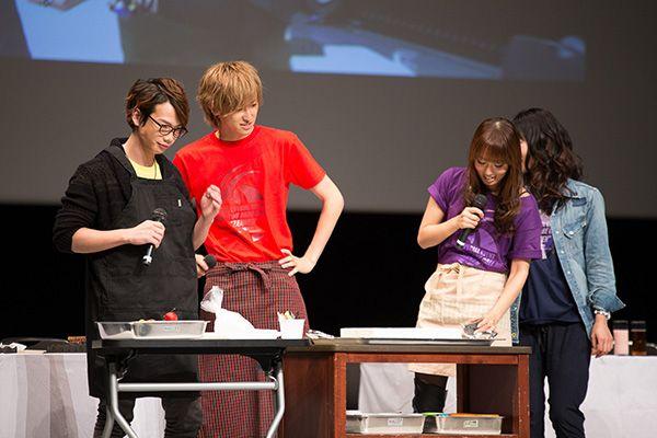 Galactic Armored Fleet Majestic Prince Voice Actors (From the left, Junya Ikeda, Hiroki Aiba and Yoko Hikasa) - 銀河機攻隊マジェスティックプリンス 相葉裕樹、池田純矢、日笠陽子