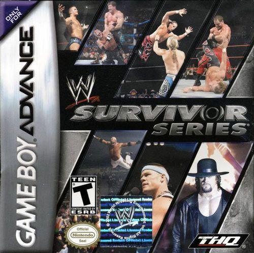 WWE Survivor Series - Game Boy Advance Game
