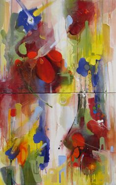 "Saatchi Art Artist  Chico Harkrader; Painting, ""Season Color Analysis"" #art"