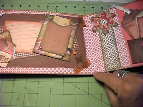 Video #31 Envelope mini album tutorial  fun