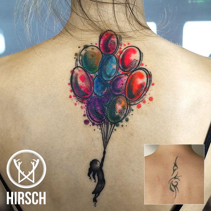 coverup tattoo, copertura tatuaggio, tattoo, watercolor tattoo, colors tattoo, fly