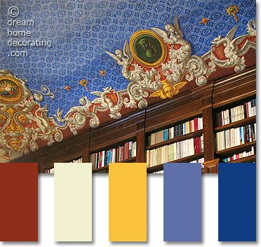 Tuscan color palette inspiration: 7 authentic combinations of Tuscan paint colors.