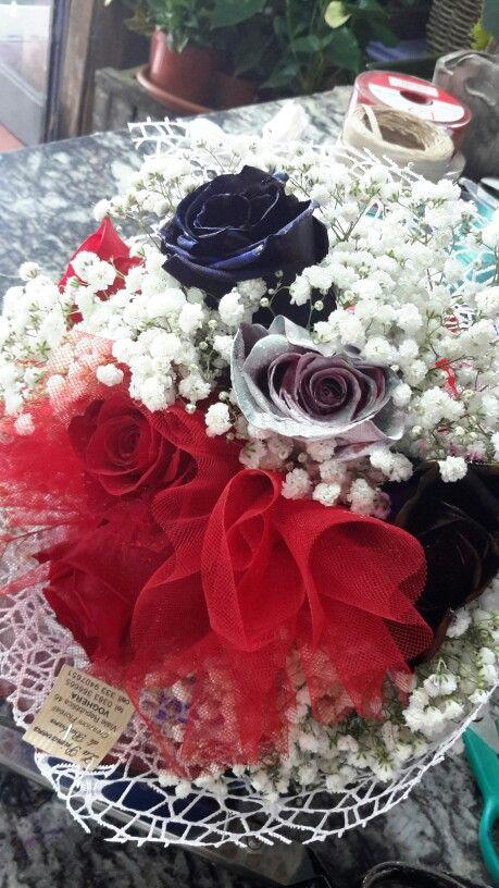 Rose colorate...