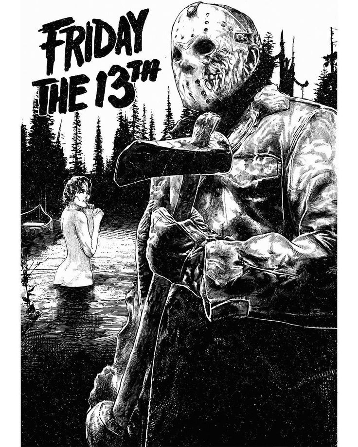Jason Voorhees-Friday The 13th......Mi dia preferido