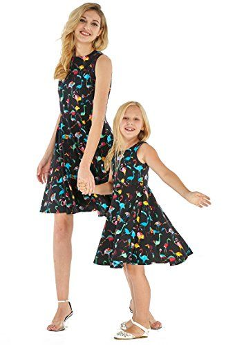 a5c73782937 Matching Hawaiian Luau Mother Daughter Vintage matching out fit ...