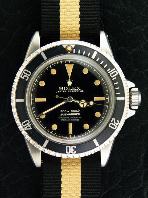 Launched in 1953, the Submariner was the first divers' watch waterproof to a depth of 100 metres (330 feet).The watch was featured in the Roger Moore's James Bond movie Live and Let Die.