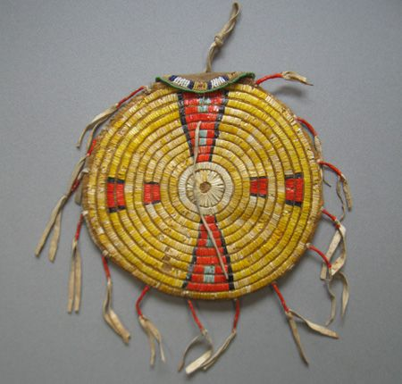porcupine quillwork   ATADA Home Page with Members Gallery and Directory (The Antique Tribal ...