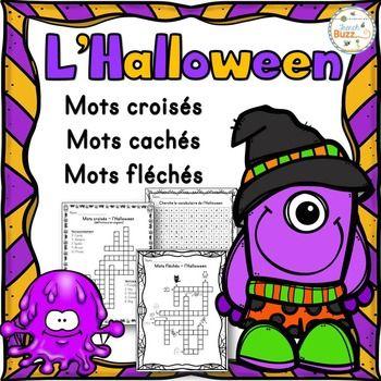 Bekannt Les 25 meilleures idées de la catégorie Mots croisés halloween sur  SO32