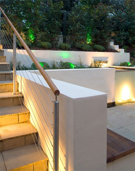 London Garden Balustrade    Stainless Steel Balustrade