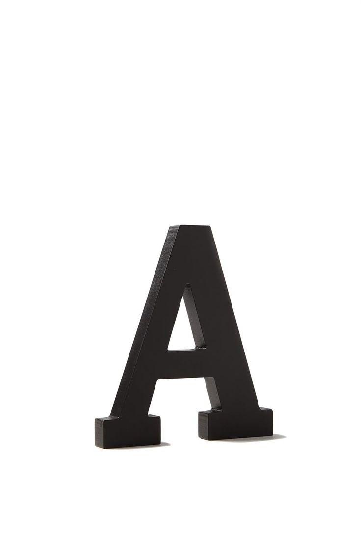 letterpress wooden letter | Typo