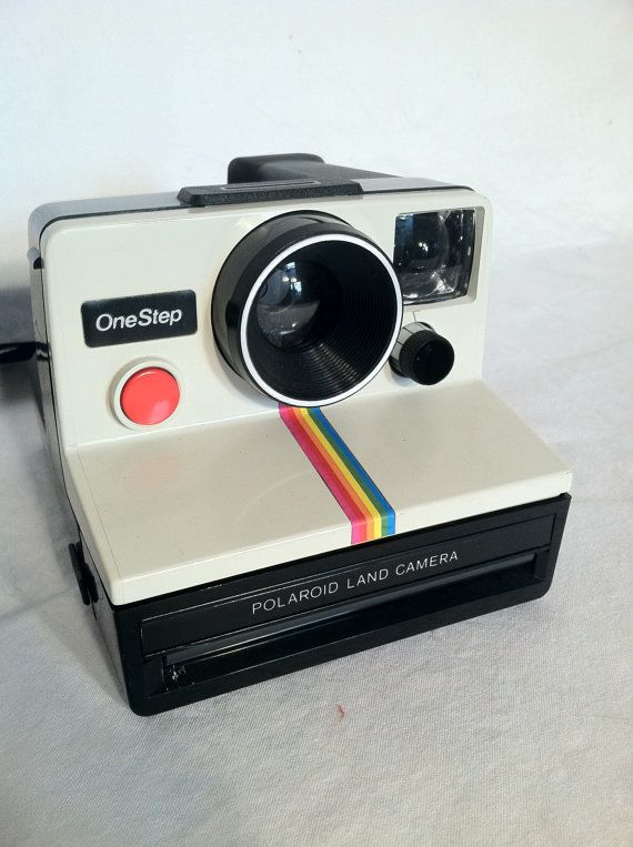 Vintage Polaroid Camera by ZassysTreasures on Etsy, $20.00 guest can take a picture and sign it for the guest book
