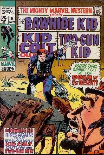 Mighty Marvel Western #6 Comic Books - Covers, Scans, Photos  in Mighty Marvel Western Comic Books - Covers, Scans, Gallery