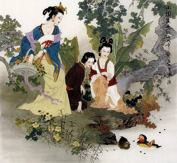 китайские картинки и сюжеты слепили
