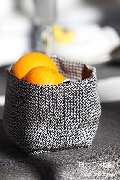 Fruit basket, flower pot cover, hideaway for keys, sunglass or other small items... You name it. By Pisa Design. Hedelmäkori, kukkaruukun suoja, avainten, aurinkolasien ja muun pikkutavaran piilo... Tämä käy kaikkeen. Pisa Designilta.