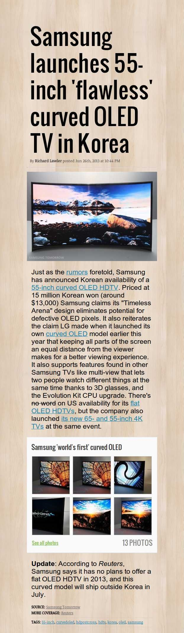 http://www.engadget.com/2013/06/26/samsung-launches-55-inch-flawless-curved-oled-tv-in-korea/