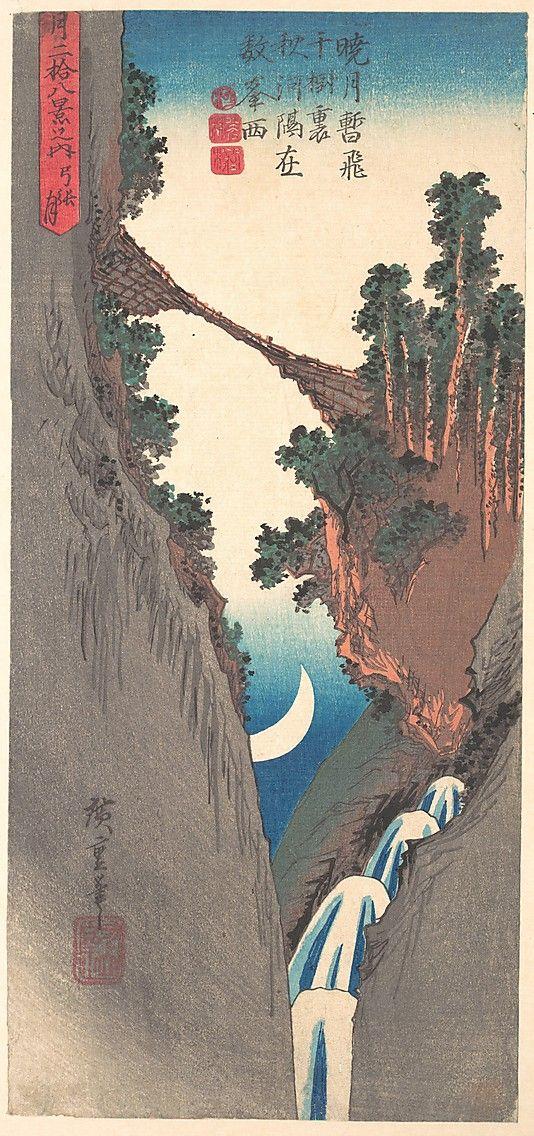 Bow Moon - Utagawa Hiroshige