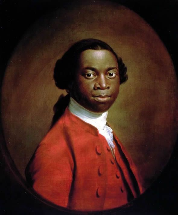 Olaudah Equiano, a former slave turned abolishenist of the 18th Century, whose autobiography and association with William Wilberforce were both turning points in the UK's anti-slavery movement. Description from pinterest.com. I searched for this on bing.com/images