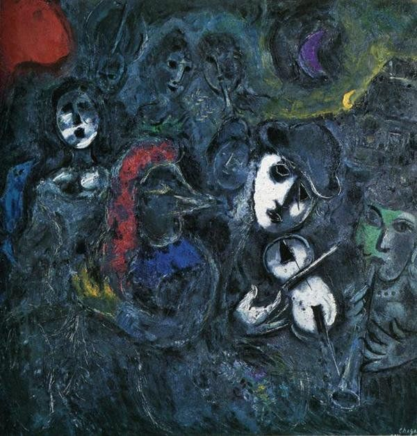 bode, chagall, judeu, marc, pintura, romantismo, surrealismo, violino