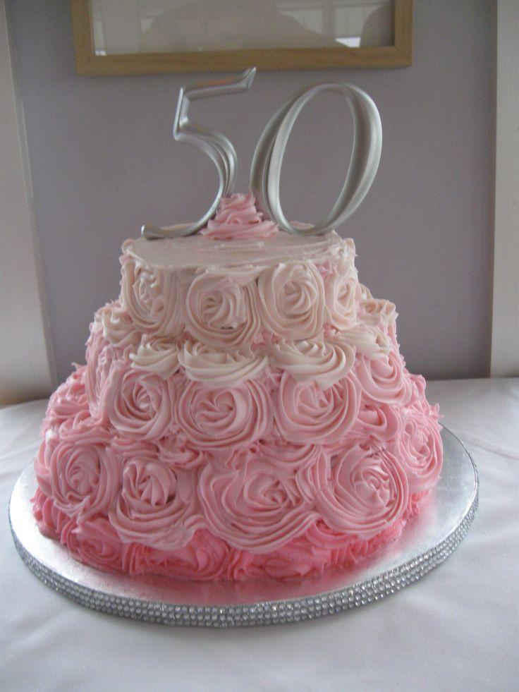 Square And Circle Cake
