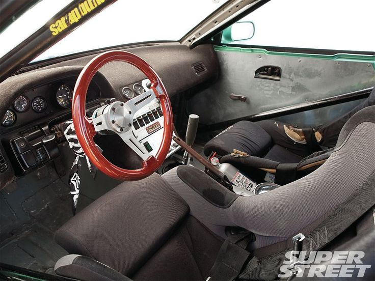 1989 Nissan 240SX S13 with Silvia Front End Conversion interior