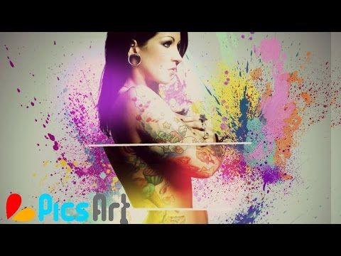 Beginner HD con PicsArt | Foto Artistica - YouTube